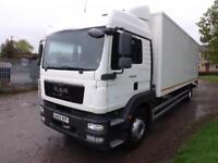 2012 MAN/ ERF TG-M TGM 18.250 Euro 5 18 Tonne Sleeper Box Truck