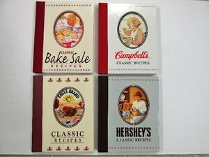 Cookbooks Classic Bake Sale, Campbell's, Eagle Brand, Hershey's