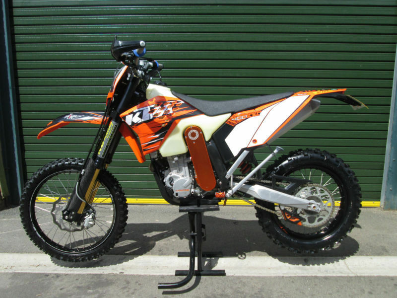 KTM 400 EXC 2010 2WD 2 WHEEL DRIVE ENDURO ROAD REGISTERED MX MOTOCROSS BIKE 574262e2f3