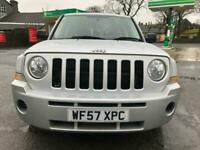 57 plate - Jeep Patriot 2.0CRD Sport -part service history - 4x4 - good runner