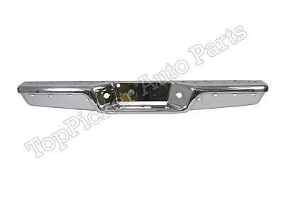 - FOR 97-04 Dodge Dakota Rear Step Bumper Bar Chrome W/License Panel (Oem Type)
