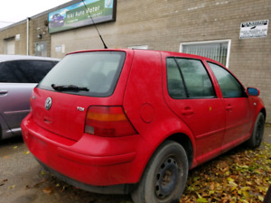 2003 Volkswagen Golf TDI Manual