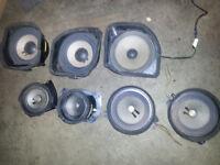 Mercedes W202 Benz C Class Whole Car Speakers Set OEM 93-99