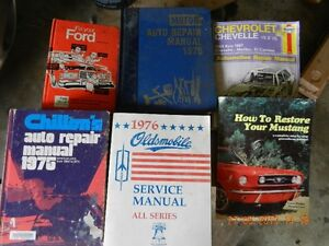 Manuals -Service and Repair - Mustang Oldsmobile Chev