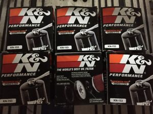 6 Brand New, Still in Pkg, K&N Oil Filters for Ducati 1098/1198