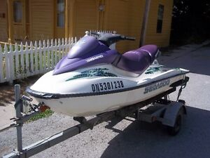 LOOK GRAFTON  2002 SEADOO GTI WITH OR WITHOUT TRAILER !!!