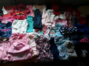 40+ items of Girls 6-12m clothing