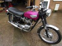 TRIUMPH T120R BONNEVILLE FIRST REG IN 1968, MATCHING NUMBERS.