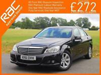 2012 Mercedes-Benz C Class C180 SE Blue Efficiency 7G Tronic Auto Sat Nav Blueto