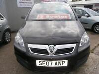 07 Vauxhall/Opel Zafira 1.6i 16v 2006MY Life in black