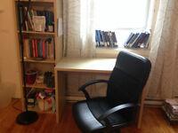 All IKEA Room Full of Furniture (bed,wardrobe,armchair,desk)