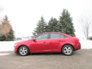 2012 Chevrolet Cruze LT- ONE OWNER SINCE NEW!! ($55/ week)