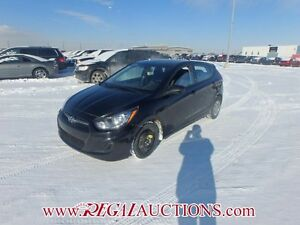 2014 HYUNDAI ACCENT GL 5D HATCHBACK AT 1.6L