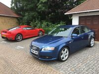 Audi A4 S-line - full leather - air con - full service history