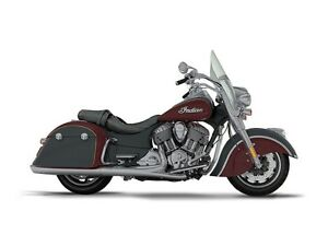 2017 Indian Springfield Steel Gray Over Burgundy Metallic