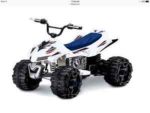 Looking For kids battery powered ride on four wheeler