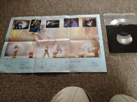 Iron Maiden 7 inch record