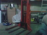 Pallet Picker ! Great for warehouse indoor and space saver!