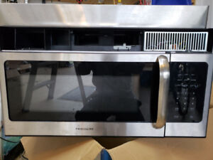 Frigidaire microwave with hood.  Very good condition.