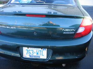 2000 Dodge Neon sedan Sedan