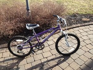 Girl's mountain bike in very good condition for sale.