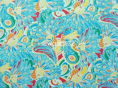 Special Price! Vintage Shake Your Tail Feather Cotton Twill Cotton Fabric BTY