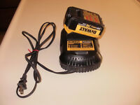 ***GREAT !! DEWALT DCB101 Battery Charger & DCB204 Battery !!!