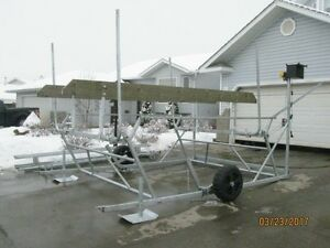CUSTOM NEW CANTILEVER PONTOON, BOAT AND WAKEBOARD BOAT LIFTS Edmonton Edmonton Area image 7
