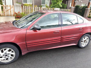 $2000 Cherry Red 2004 Pontiac Grand Am - runs GREAT!