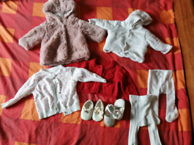 0-3 months Baby Girl bundle of clothes