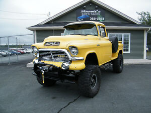 "1957 GMC 4X4 LIFTED on 38"" tires"