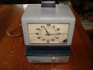 Punch Clock Kijiji Free Classifieds In Ontario Find A