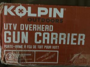 GUN RACK CARRIER / Kolpin Utv Overhead # 20078 / BRAND NEW
