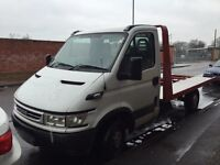 Iveco recovery truck in very good condition ,Aluminum bed,new tyers,1 year M.O.T