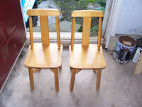 Pair of Toddlers Chairs