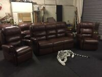 Oak tree mobility leather suite cost over £3000