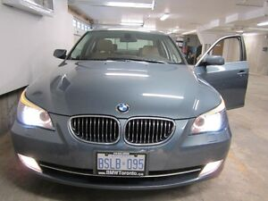 2008 BMW 528 Xdrive - BROWN LEATHER interior, Blizzak Snows incl