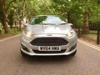 Ford Fiesta 1.0 liter EcoBoost Powershift 2014 Zetec automatic 5 doors £30 tax