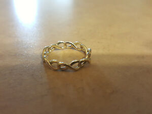 Tiffany & Co Sterling Silver Infinity Ring