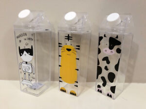 Brand new 3 cute plastic containers, only $1