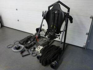 Jetlev Flyer Jetpack from Europe w Various Accessories Flyboard