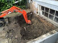 Get You Don't Pay Till Job Done  NEW Mini Excavating Service