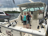 PROFESSIONAL FISHING CHARTERS LAKE ONTARIO HUGE SALMON AND TROUT