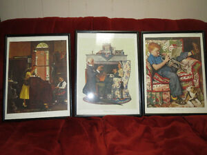 Norman Rockwell Lithograph Collectibles