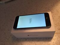 iPhone 6 black comes boxed locked to o2