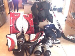 Équipement de gardien / Goalie equipment