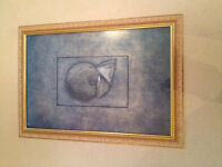 """29"""" x 41"""" Picture in High End Picture Frame"""