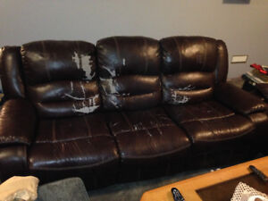 Love seat , Recliner , Couch