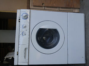 Selling stack able front load dryer and washer!