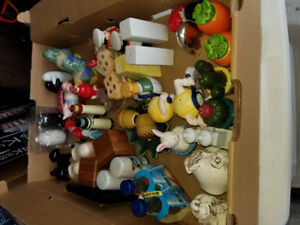75 sets of salt and pepper shakers. Some highly collectable